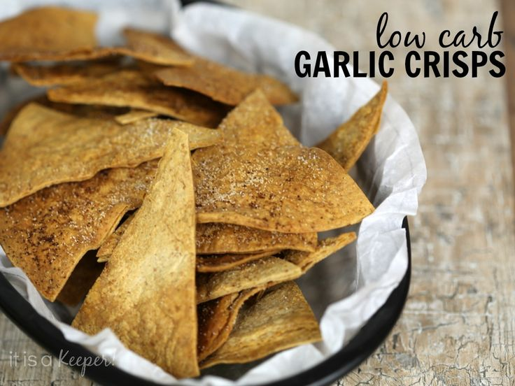 Homemade Garlic Crisps