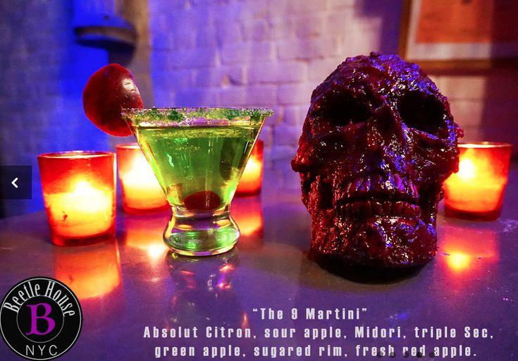 This Tim Burton theme bar has just opened in New York City