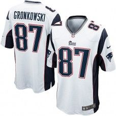 Nike Mens New England Patriots Rob Gronkowski Jersey 87 Game Team Color  White. Zapatillas Nike BlancasCamisetas De ...