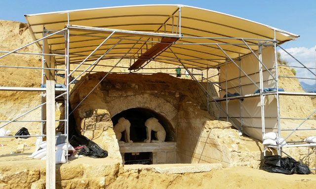 EU, Regional Funds to Go Towards Further Amphipolis Site Works.