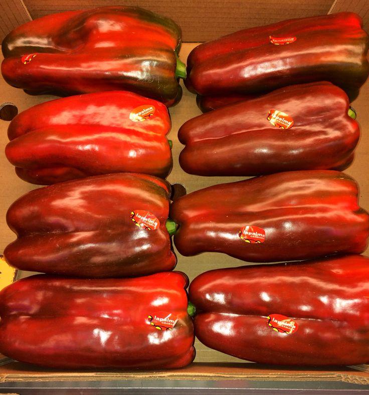 Pimientos rojos, perfectos para asar.