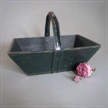 Vintage French Wooden Trug - Mabel & Rose