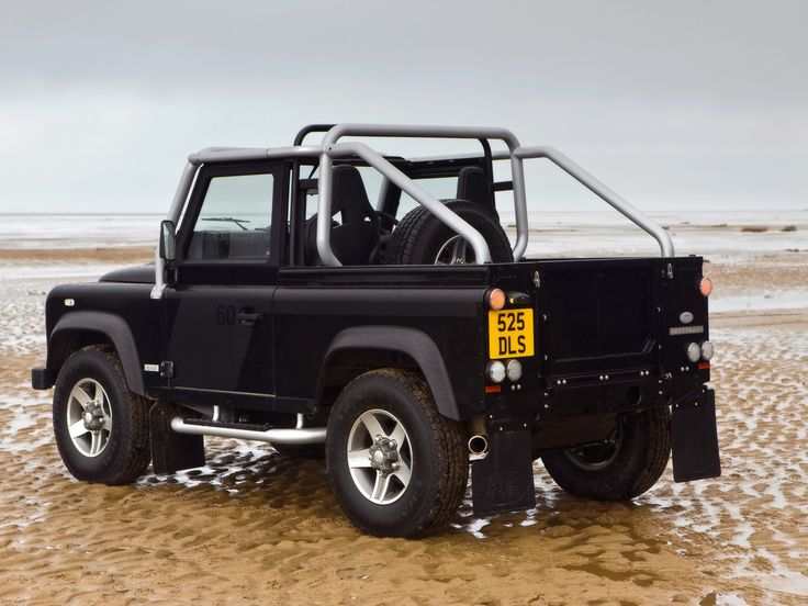 LAND ROVER DEFENDER 90 SVX SOFT TOP CONVERTIBLE WITH AUTOMATIC ...