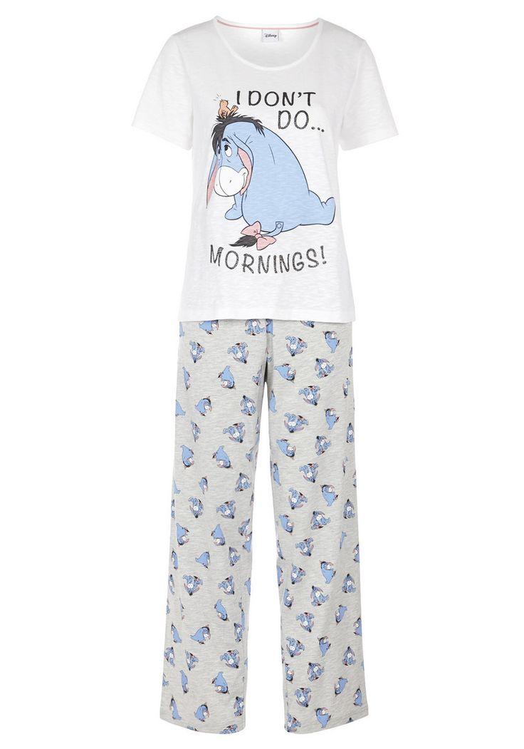 Clothing at Tesco | Disney Eeyore Pyjamas > nightwear > Nightwear & Slippers > Women
