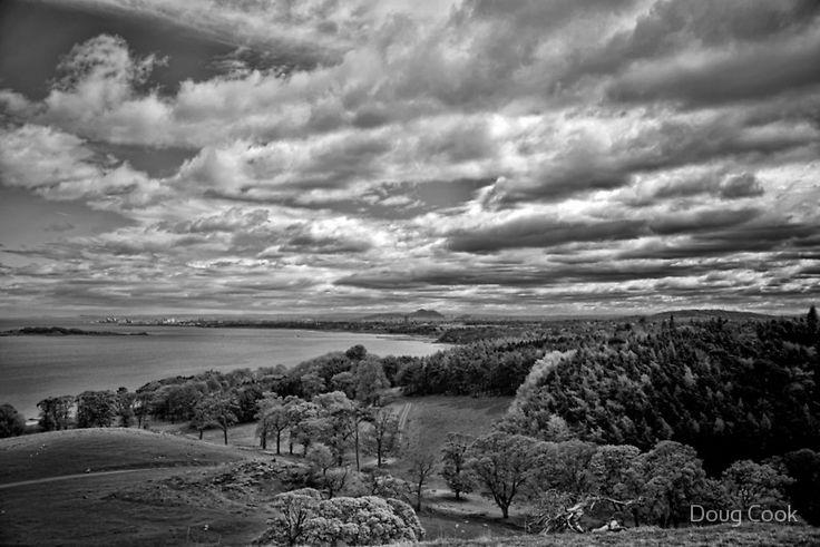 Edinburgh from the Dalmeny Estate