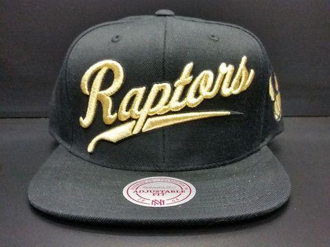 Toronto Raptors Snapback 24K Gold Script