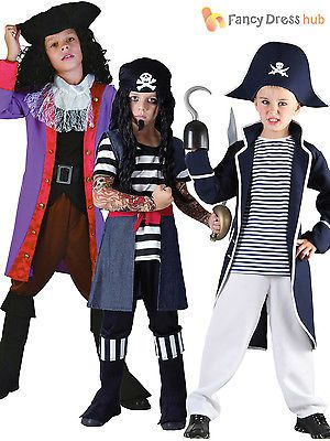 Boys pirate #captain costume kids #caribbean #fancy dress child book week day,  View more on the LINK: http://www.zeppy.io/product/gb/2/181668662032/