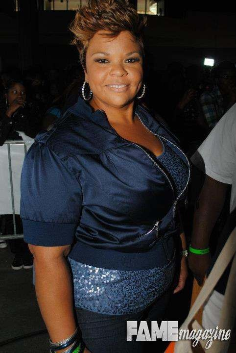 good shape, cute outfit, beautiful Lady  (Tamela Mann aka Coral of Meet the Browns)