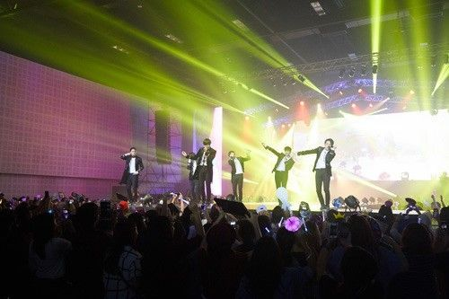 Teen Top's Concert Successful in Thailand, Next Stop - Japan