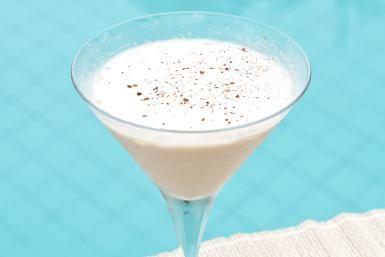 Golden Cadillac Cocktail  3/4 ounce cream 3/4 ounce white creme de cacao 3/4 ounce Galliano