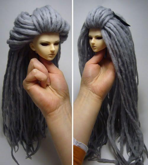 делает как сделать парик кукле поэтапно фото судьбы
