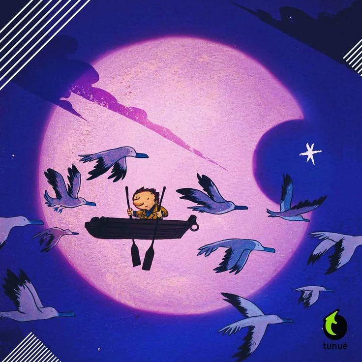 """""""Questa notte... come tutte le notti... Octave un bambino come tanti altri sogna..."""" #octave #davidchauvel #alfred #walter #tunué"""