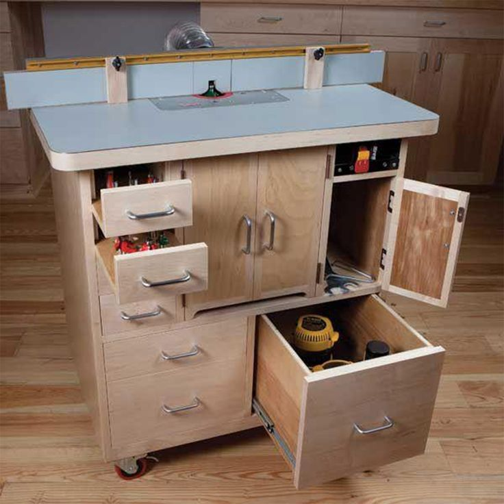 Woodworking Project Paper Plan to Build Router Table – Products