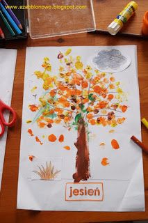 Acquaint your child with seasons of the year. Free printables: the tree silhouette and the Seasons activity sheet.