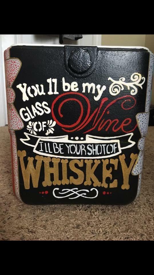 wine whiskey cooler