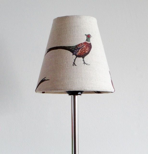 Candle Lampshade in Flohr&co Pheasant £25.00