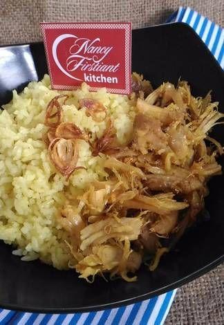 Nasi Kuning Ayam Suwir