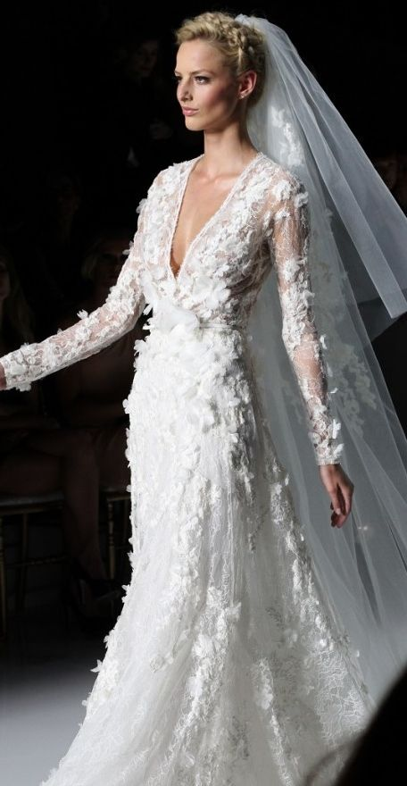 Pronovias 2014 wedding dresses wedding dresses for Elie saab wedding dress for sale