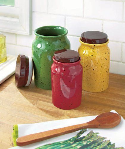 Kitchen Jars Set: 17 Best Images About Dining Room/Kitchen On Pinterest