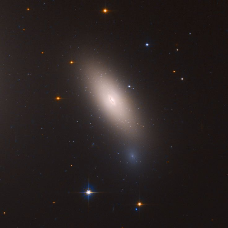 Arrested Development: Hubble Finds Relic Galaxy Close to Home 3/12/18 This video zooms into the relic galaxy NGC 1277 near the center of the Perseus cluster of over 1,000 galaxies, located 240 million light-years from Earth Credits: NASA, ESA, and J. DePasquale (STScI)