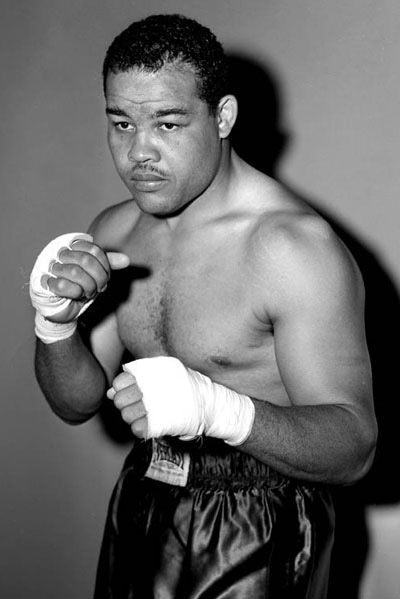 Joe Lewis (The Brown Bomber) 1914 - 1981.  Joe Louis, was the world heavyweight boxing champion from 1937 to 1949. He successfully defended the title 25 times.  He was 68 wins & 3 loses as a professional.