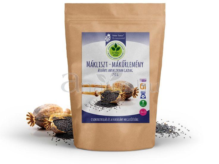 Dr. Natur étkek. Prémium Mákliszt – Mákőrlemény, Ásványi anyagokban gazdag 250 g