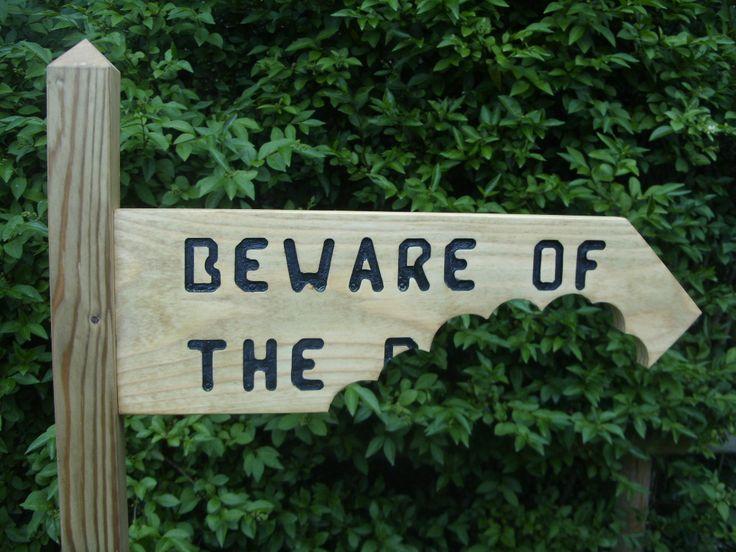 funny garden signs   Fun Signs - Suffolk Dovecotes