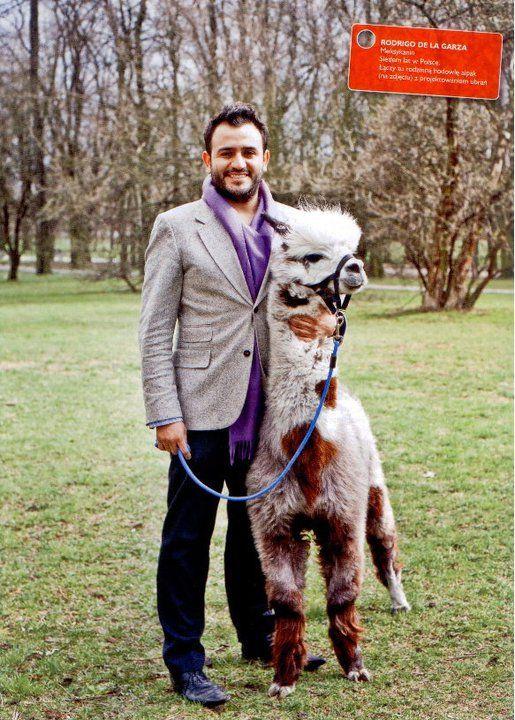 Rodrigo De La Garza and Quintessence Alpacas Poland