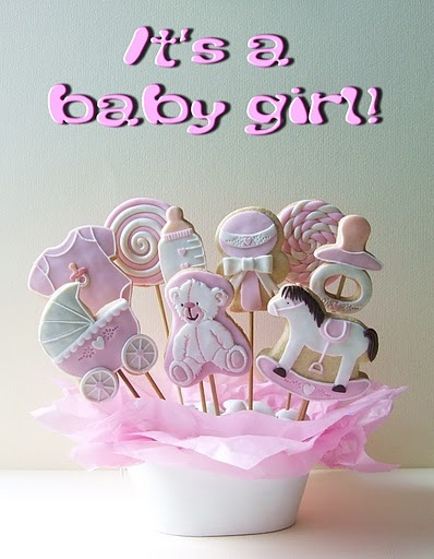Biscotti for Baby Girl