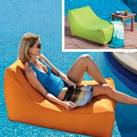 Sunsoft Chaise, Pool Chaise Lounge, Floating Lounger | Solutions   Green