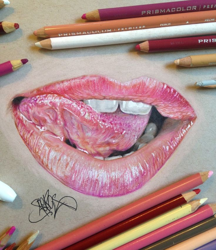Best How To Draw Lips Images On Pinterest Beautiful Draw - Artist uses pencils to create hyperrealistic drawings of paint