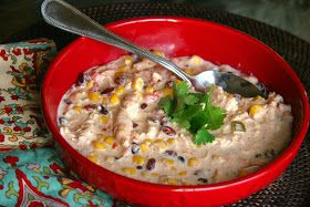 Look Who's Cookin' Now: Crock Pot Cream Cheese Chicken Chili