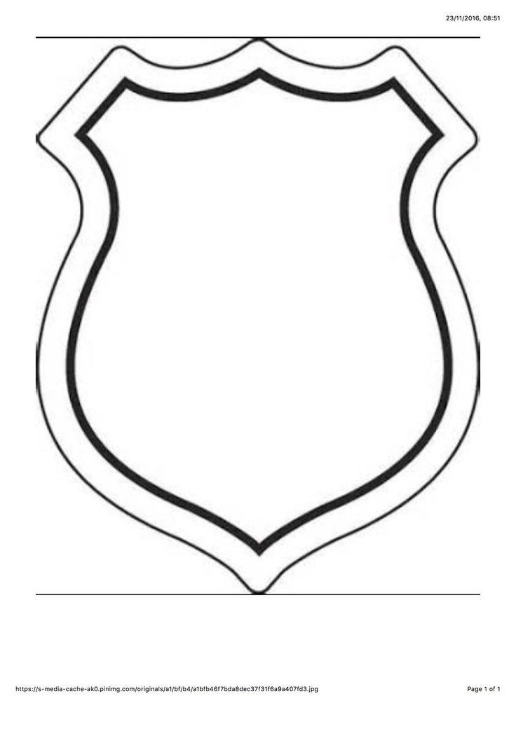 best 20 paw patrol badge ideas on pinterest. Black Bedroom Furniture Sets. Home Design Ideas