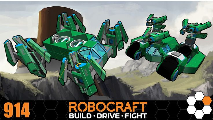 Robocraft - TDM with Chums! 500cpu bots Gameplay