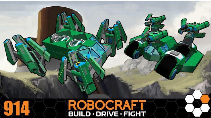 Robocraft - TDM with Chums! 500cpu bots Gameplay