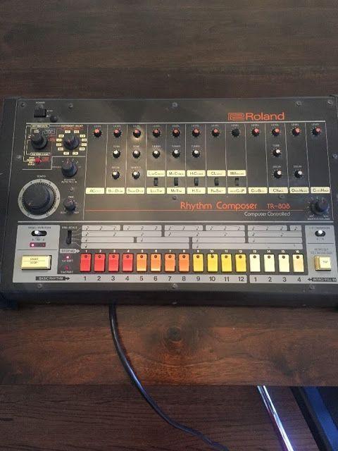 MATRIXSYNTH: Roland TR-808 SN 041687
