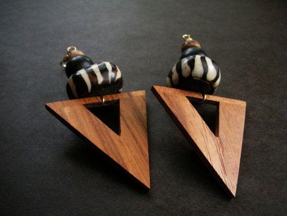 Zulu African Spear Earrings