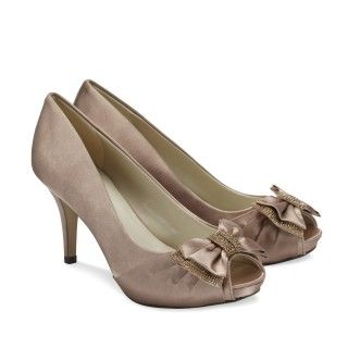 Girlsofelegancecouk Products Casey Taupe Wedding Shoes By Pink Paradox London Are A