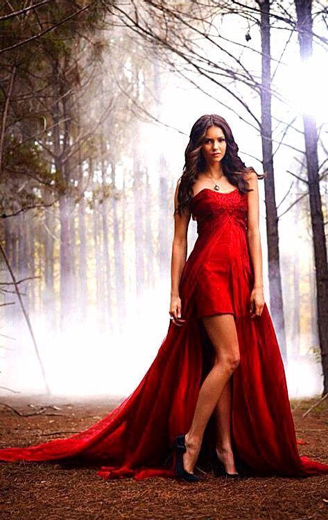 Rouge chérie Deux Pièce Formelle De Bal Robe Vampire Diaries 2 détachable train en mousseline de soie longue robe de bal dans Robes de bal de Mariages et Événements sur AliExpress.com   Alibaba Group