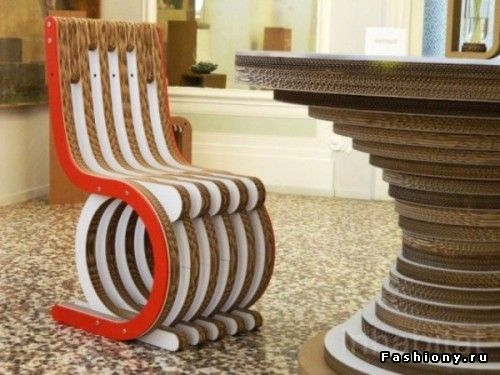 cardboard furniture design. architect giorgio caporaso marries form function and sustainability in furniture design with his innovative use of recycled recyclable cardboard i