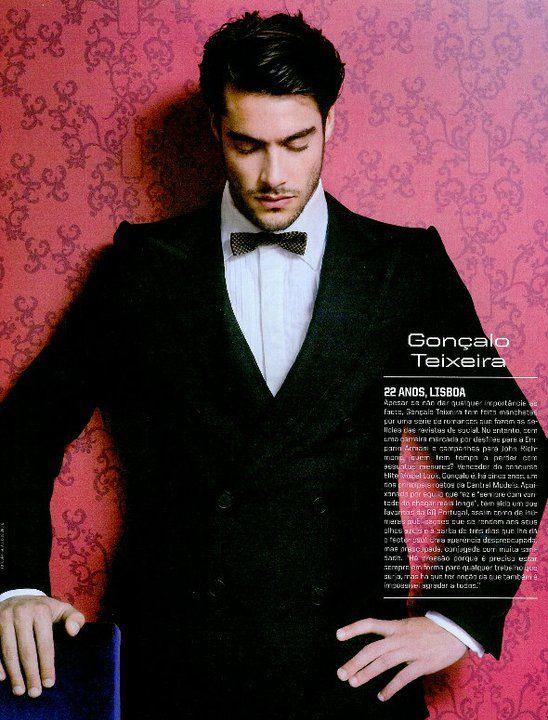 Goncalo Teixeira model fashion