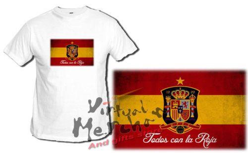 Camiseta SELECCION ESPAÑOLA tshirt t-shirt xxl brasil futbol 2014 mundial españa | eBay