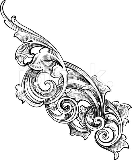 Tattoo Vintage Filigree