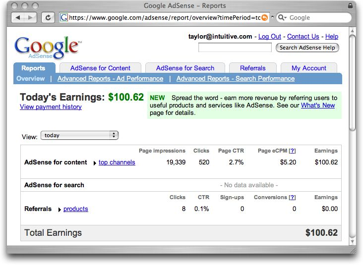 difference between Page views, Clicks, Page CTR, CPC and Page RPM in #Google #Adsense