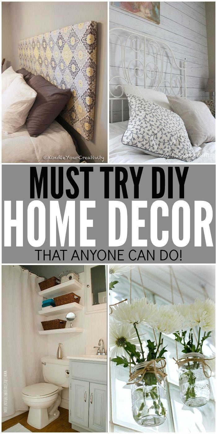 Diy Home Decor Ideas That Anyone Can Do European Home Decor