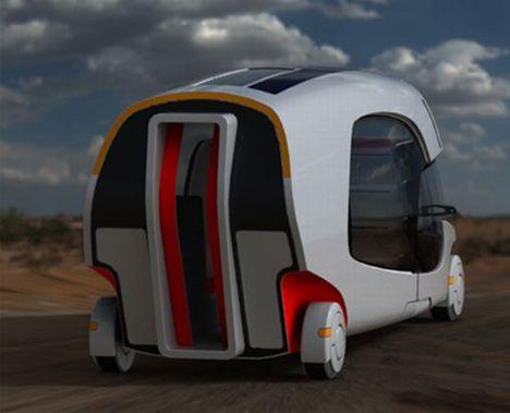 future mini camperRv Campers, Camps, Caravan Campers, Travel Trailers, Cool Ideas, Future Cars, Concept Cars, Rv Storage, Futuristic Cars