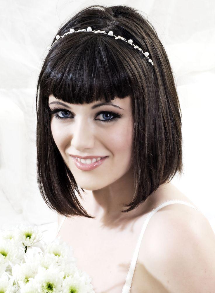 Bridal makeup.