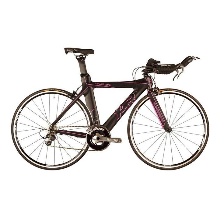 Qr Dulce Complete Tri Bike In Pink Black Trial Bike Bike Bicycle