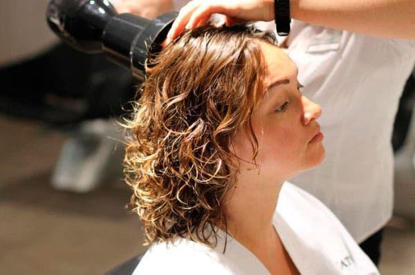 Японская химическая завивка волос
