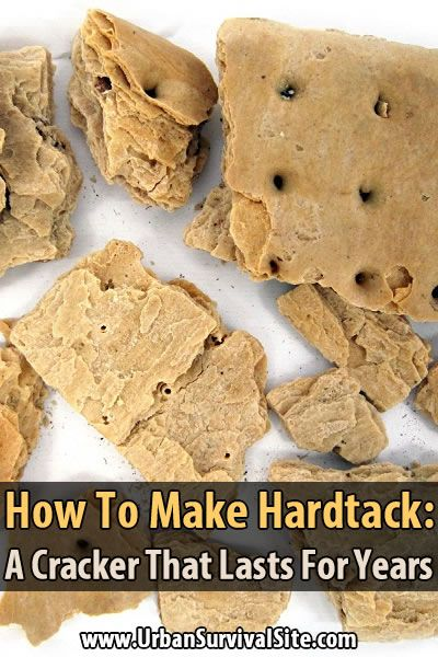 The great thing about hardtack is it lasts for years without any special storage methods. It's also a great source of energy in emergency situations.